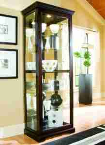10 Best Curio Cabinets Reviews 7