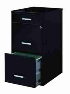 best black 3 drawer lockable filing cabinet review