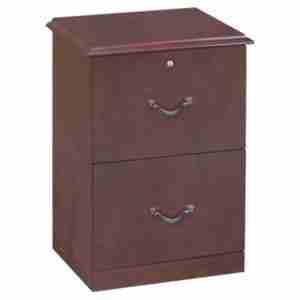 Cherry Vertical 2 Drawer Lockable Filing Cabinet Reviews
