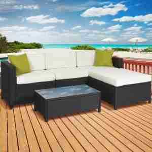 a3687d02eb4 Best Choice Products 5PC Rattan Wicker Sofa Set. 10 Best Wicket Patio  Furniture Reviews 7