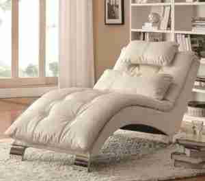white chaise lounge chair reviews