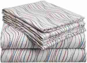 9 Best Flannel Bed Sheets Reviews 6