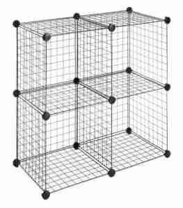 best wire 4 cube storage unit for kids