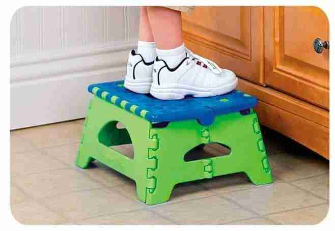 10 best folding step stool reviews Bathroom step stool for kids