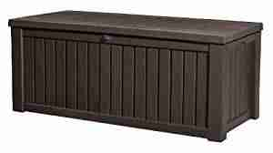 extra large outdoor storage bench box
