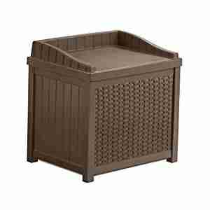 best cheap outdoor storage bench