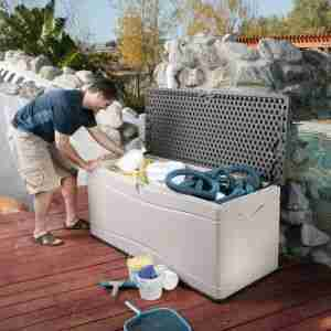 best extra large plastic outdoor storage box