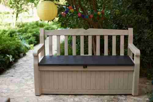 best overall outdoor storage bench