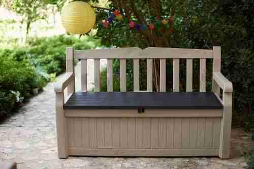 best overall outdoor storage bench