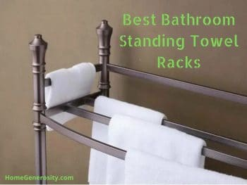 review of the best standing towel racks for the bathroom