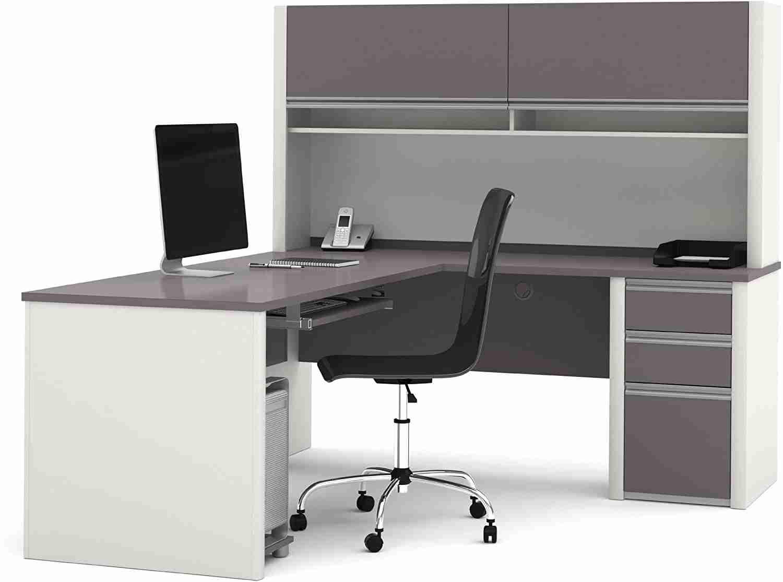 bestar connexion l shaped desk image