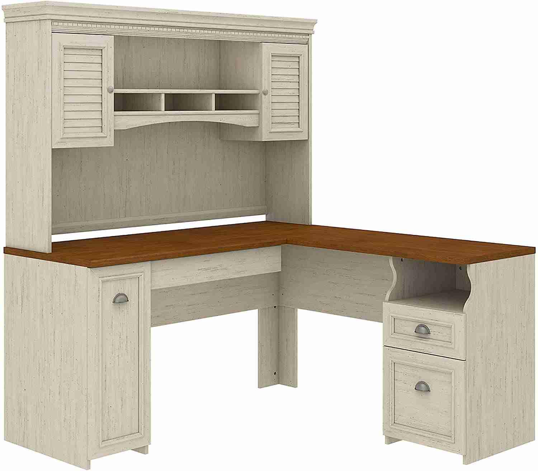 bush furniture fairview l shaped desk image