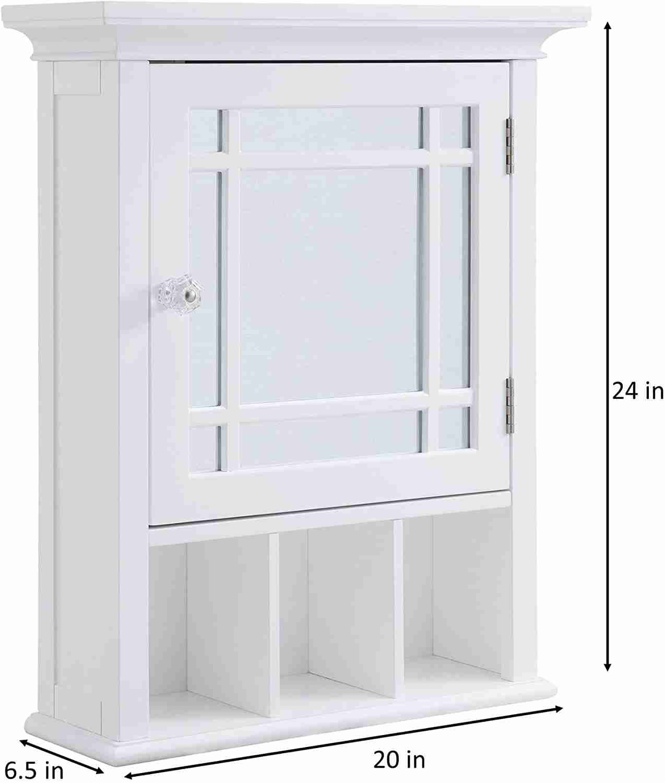 elegant home fashions medicine cabinet image