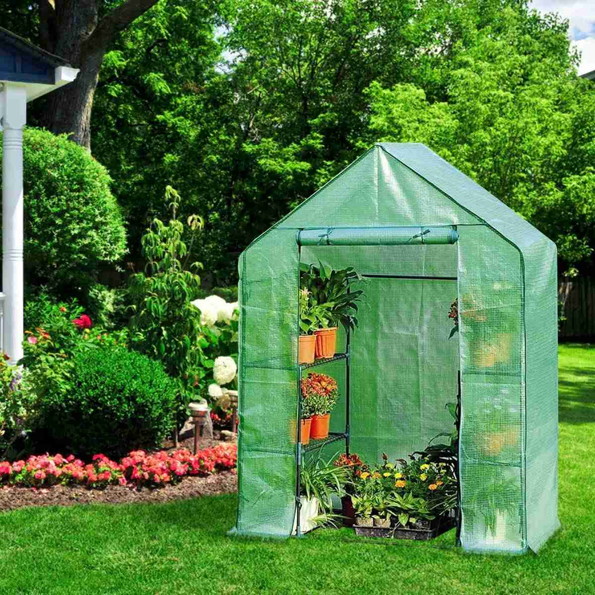 g portable 8 shelves greenhouse image