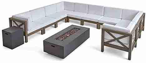 cytheria outdoor acacia sofa set image