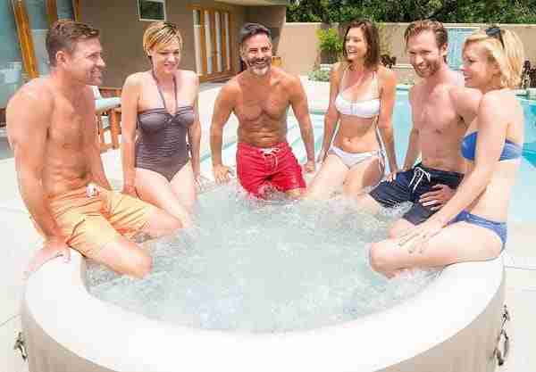 best affordable inflatable hot tub