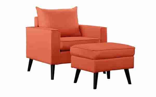 cheap accent chair with ottoman