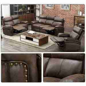 cheap leather living room furniture set
