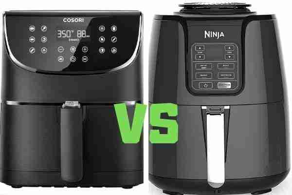 ninja air fryer compared to cosori air fryer