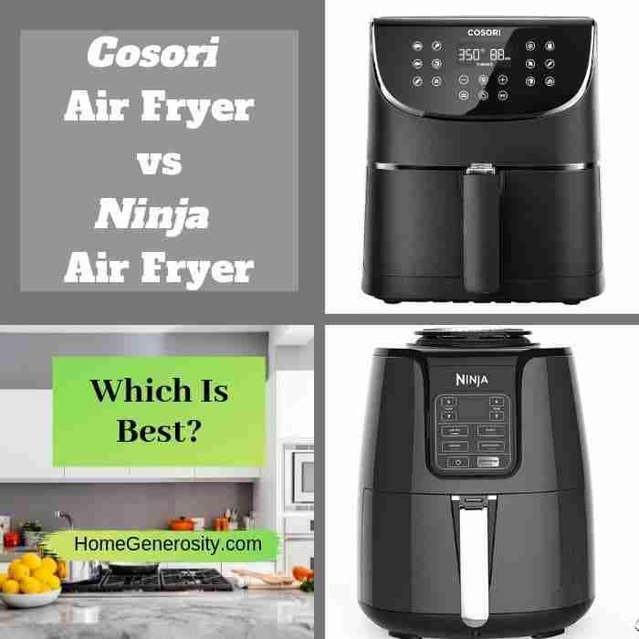 ninja air fryer vs cosori air fryer