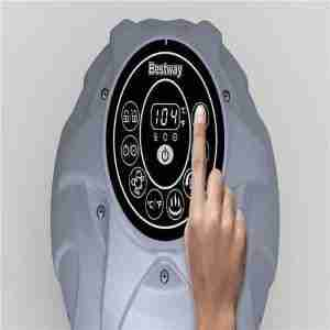 controls for inflatable hot tub are simple to use