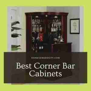 8 Best Corner Bar Cabinets | Reviews & Buyer's Guide