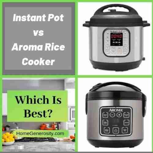 instant pot vs aroma rice cooker comparison reviews