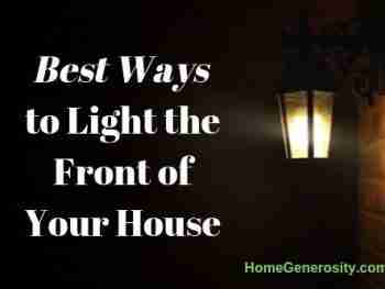 ways to light the outside of my house