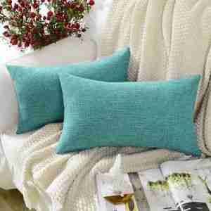 how to clean a cotton throw pillow