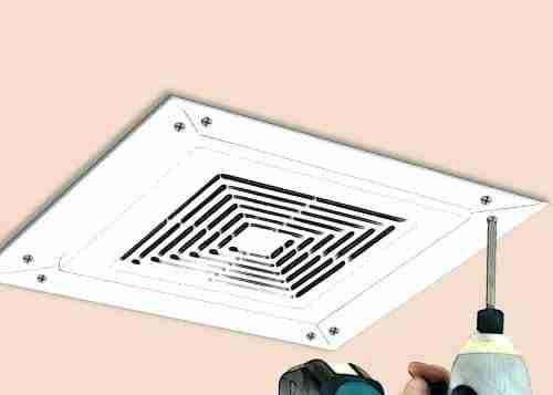 install bathroom fan to stop moisture
