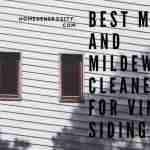 best products to clean mold and mildew off of vinyl siding on house