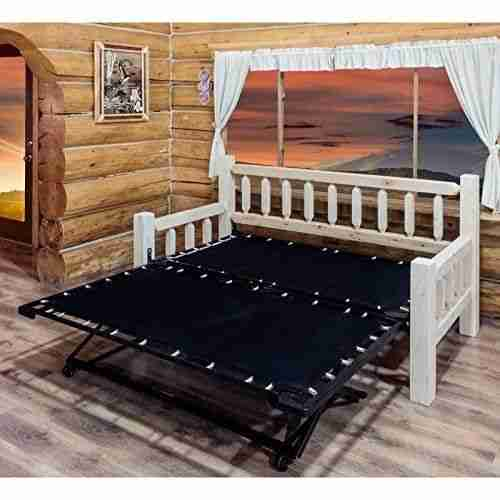best wood popup trundle bed