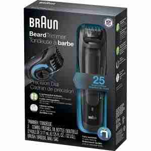 review of braun electric mustache trimmer