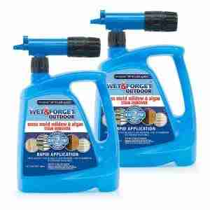 wet and forget moss and mildew vinyl cleaner