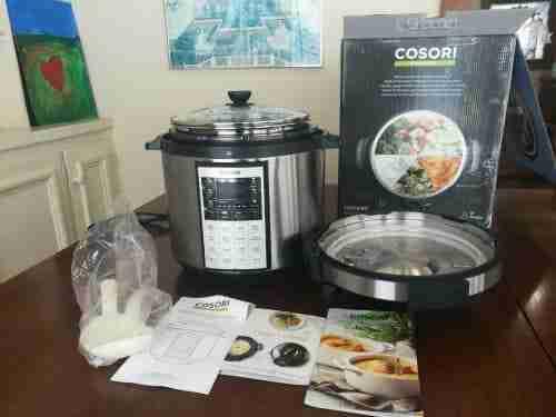 cosori pressure cooker 8-in-1 user review