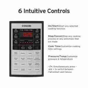 cosori temperature control