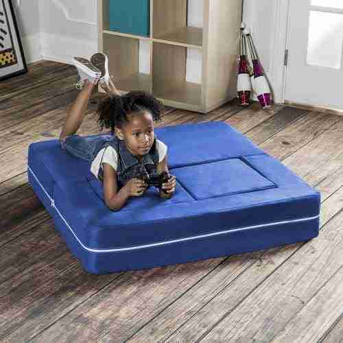 foldout loveseat with ottomans for kids