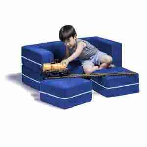 loveseat for kids with ottomans