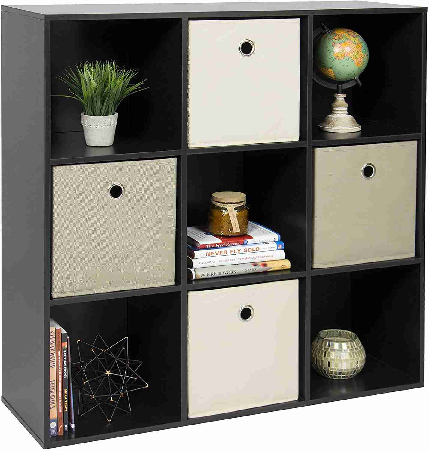 9 cube stackable storage system image
