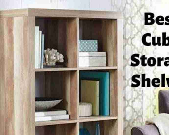 best cube storage shelves organizers