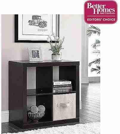 better home & gardens line 4 cube organizer image