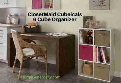 6 Cube Organizer by ClosetMaid