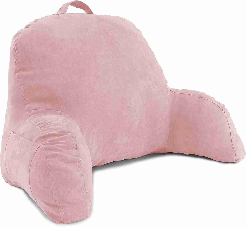microsuede bedrest pillow image