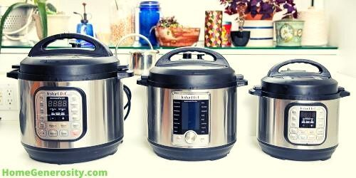 instant pot models to choose from