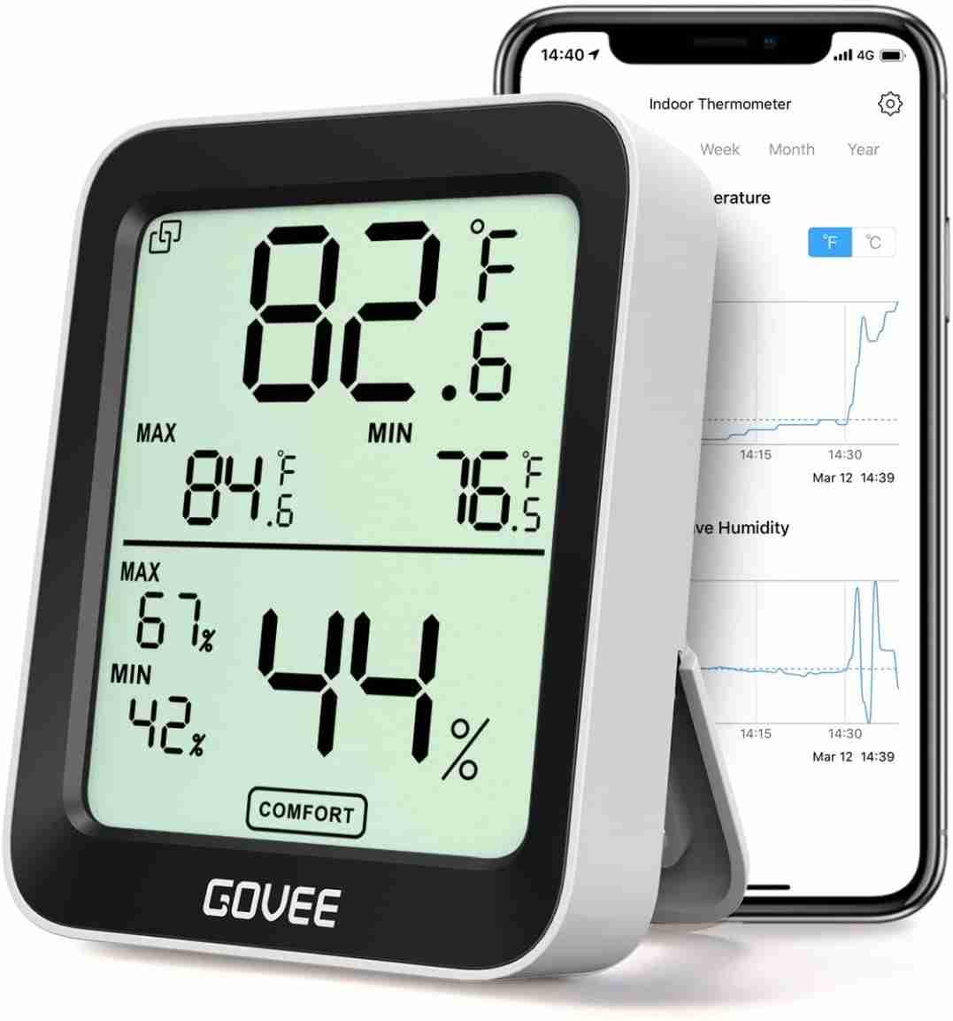 govee indoor temperature humidity sensor