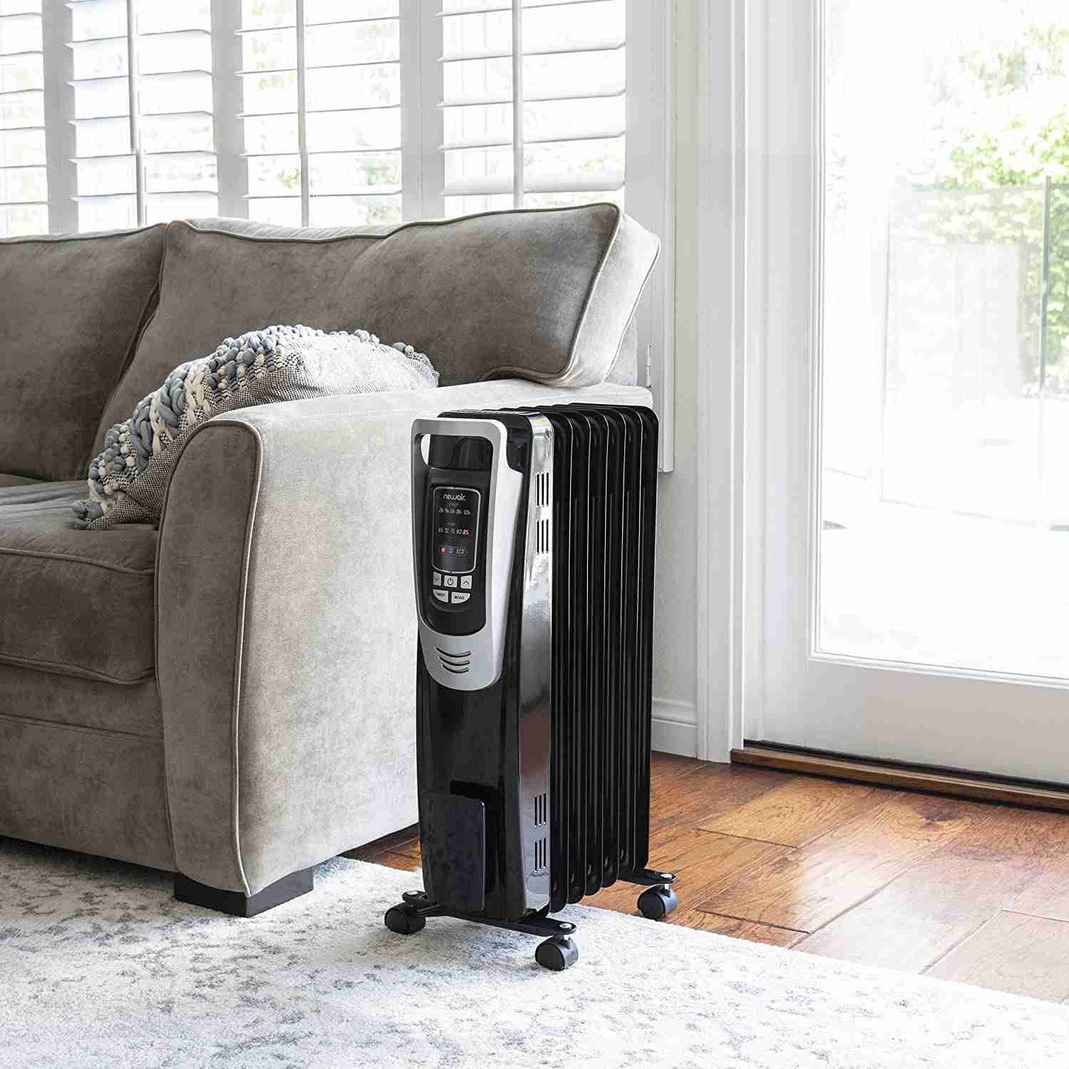 newair electric oil filled space heater