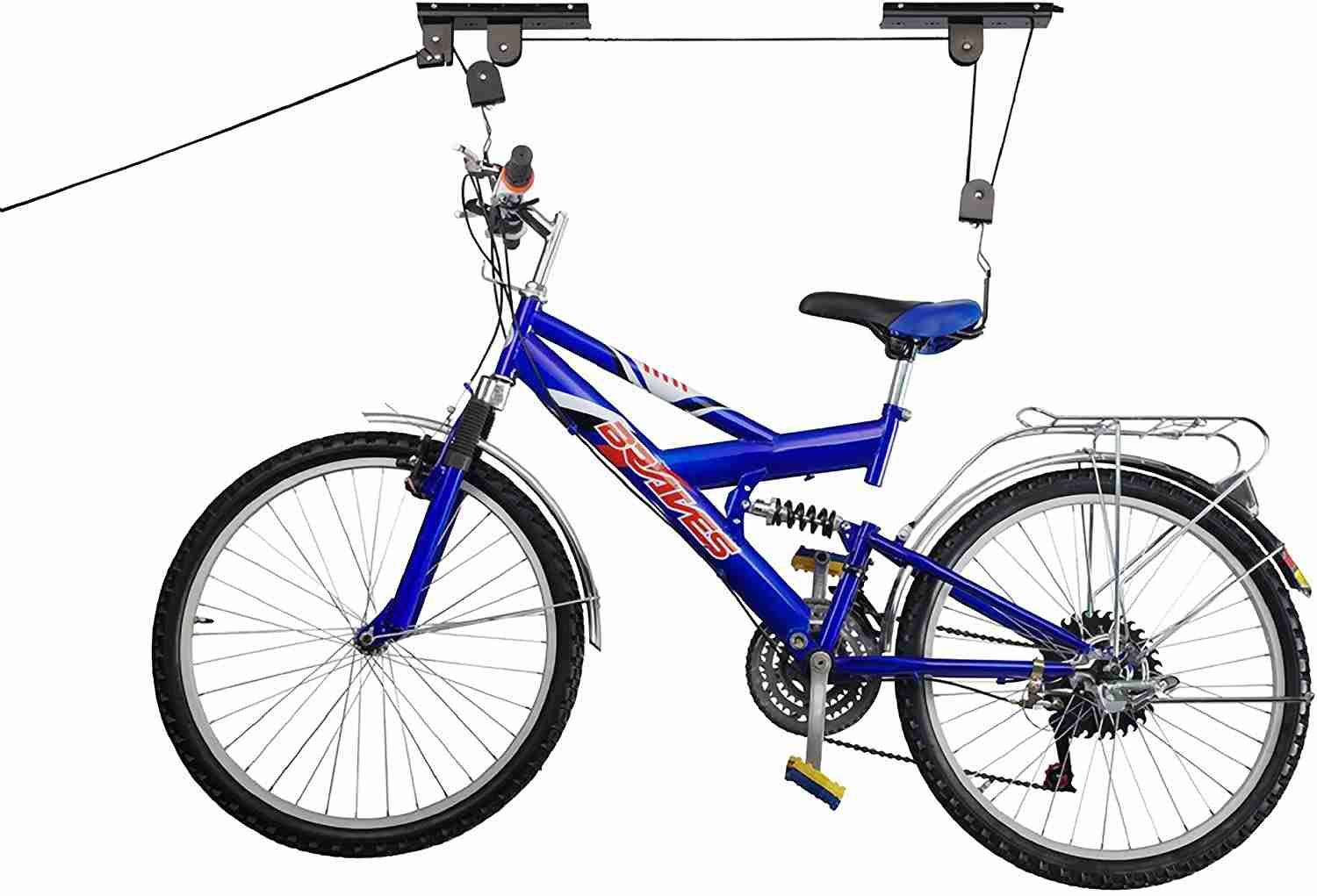 rad sportz bicycle hoist garage storage bike lift