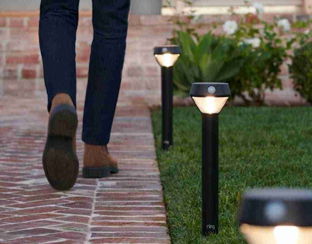 ring outdoor motion sensor security light