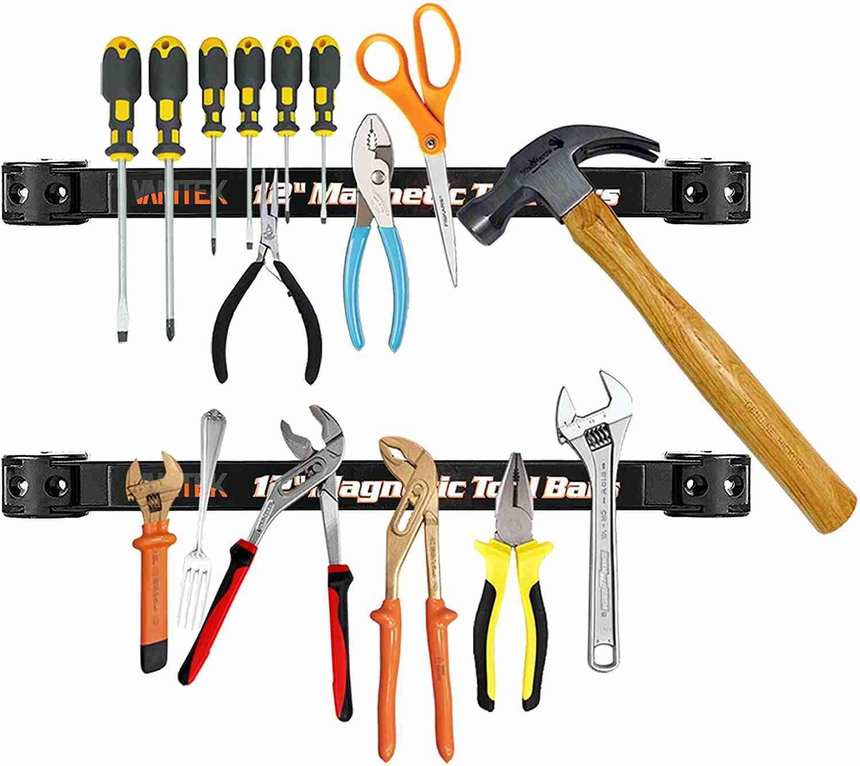 vanitek 4 heavy duty magnetic tool holder racks